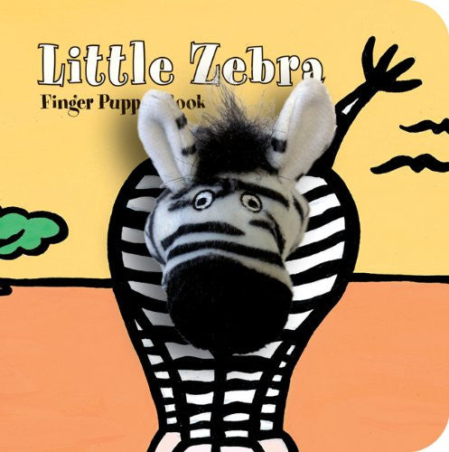 Little Zebra Finger Puppet
