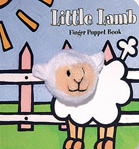 Little Lamb Finger Puppet
