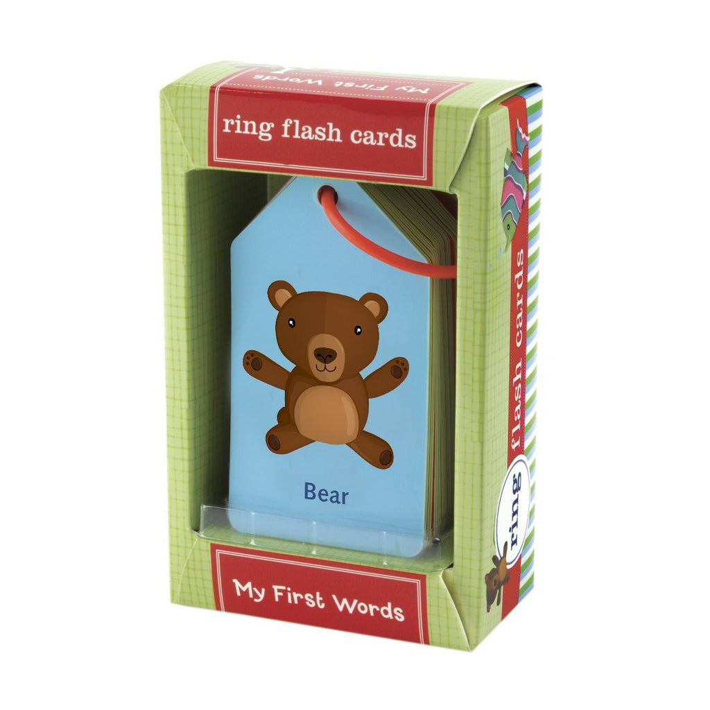 My First Words Ring FlashCards