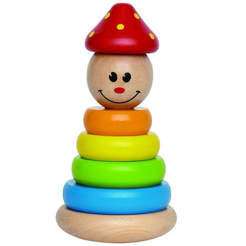 Clown Stacker Ring Toy