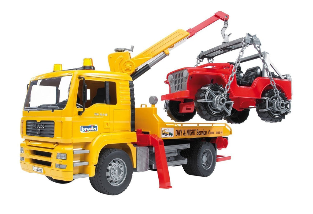 MAN Tow Truck-Cross Country
