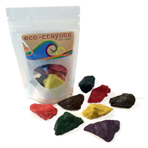 Eco-Crayons sea rocks