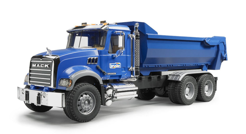 MACK Granite Dump truck-blue