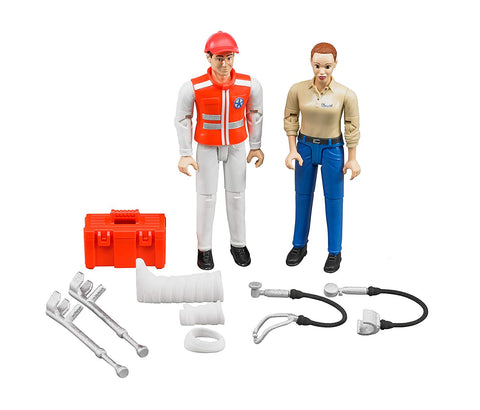 Figure Set Ambulance Toy Figure