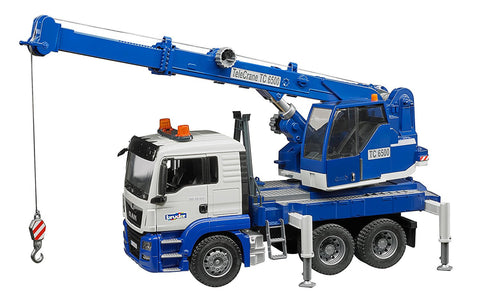 MAN TGS Crane Truck w light and sound