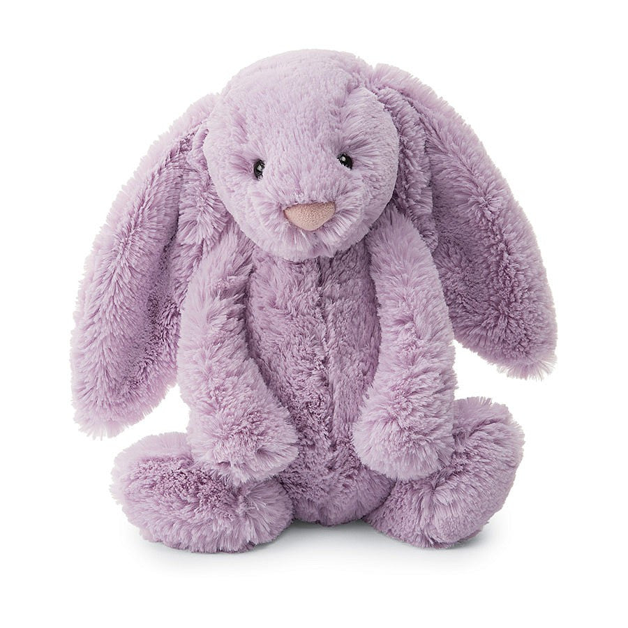 Bashful Lilac Bunny Medium 12""