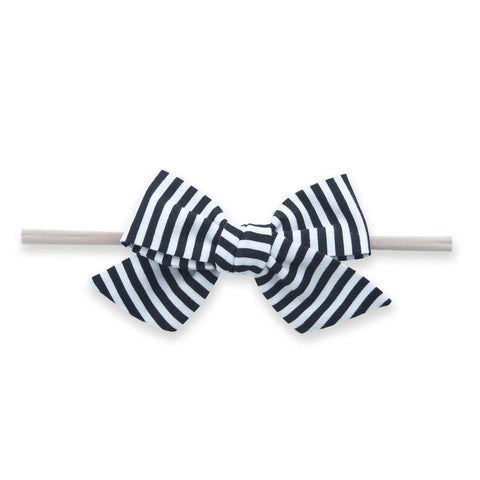 Big Cotton Bow - black stripe