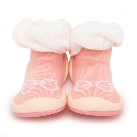 Komuello Baby Shoes - Bow / White