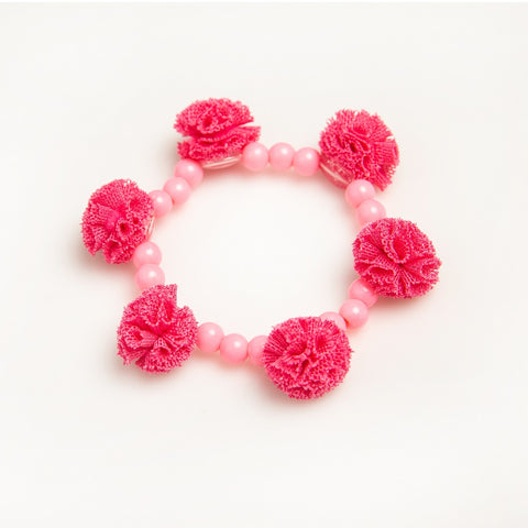 Puttisu Bead Bangle #01 Pompom