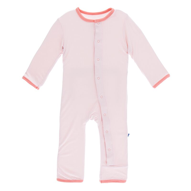 Applique Coverall - Macaroon Baby Sister