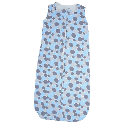 Sleep Sak (Jersey/Terry) - Paint Dots Blue