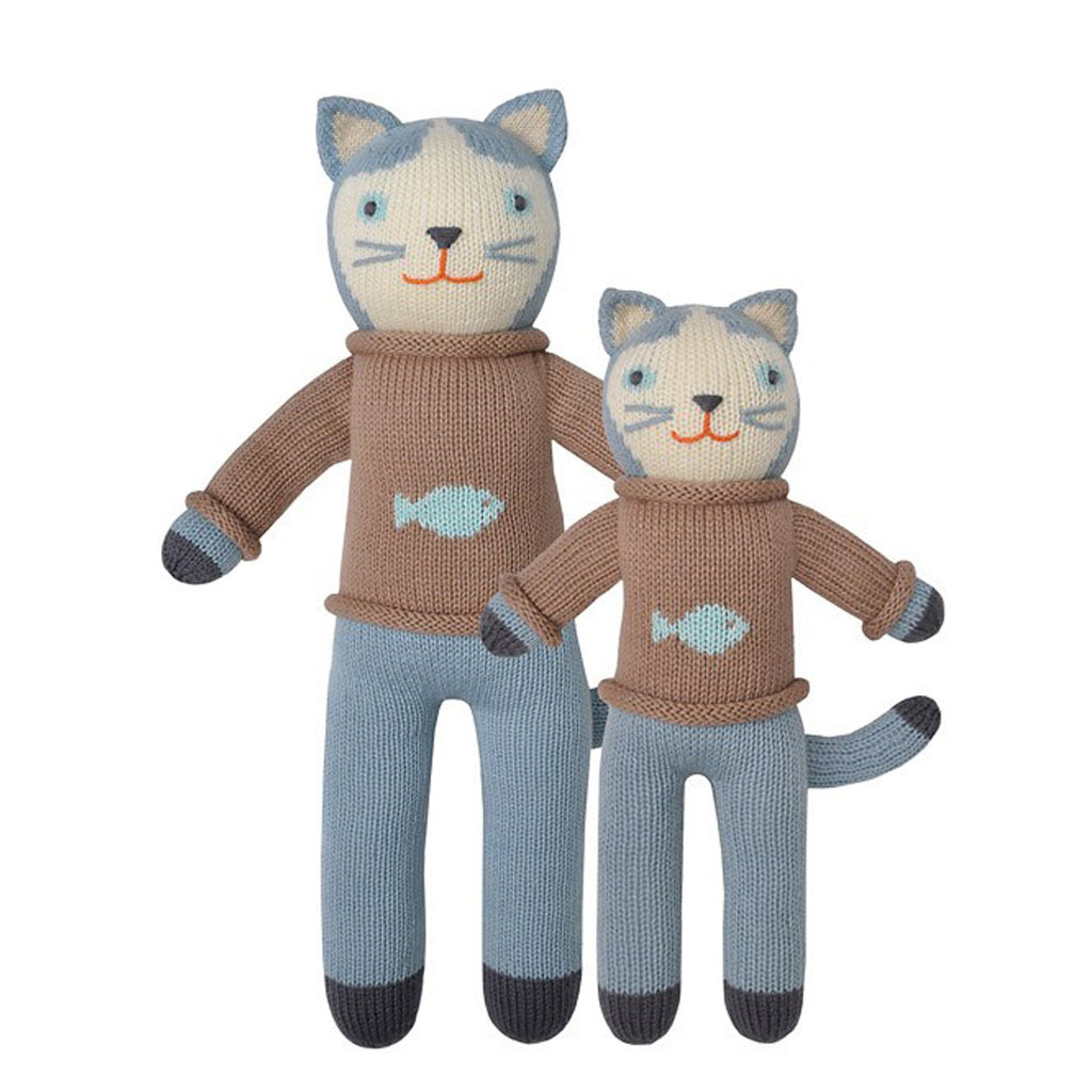 Blabla Knit Doll - Cat 'Sardine'