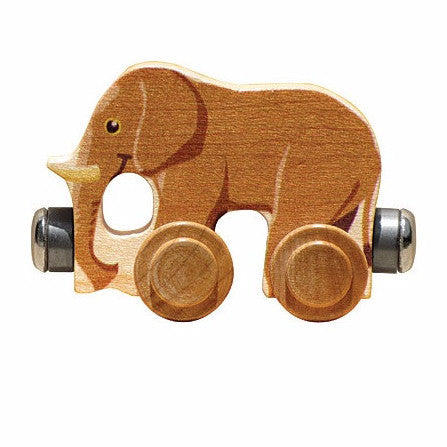 Name Trains Vehicle - Elmer Elephant
