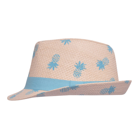 Fedora Club Hat - UPF 50+ (Pineapple)