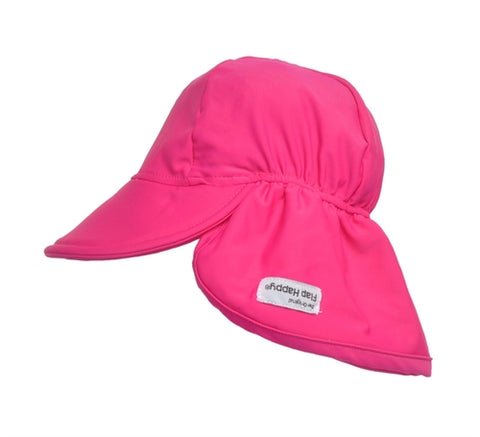 Flap Hat Solid UV - Fuchsia