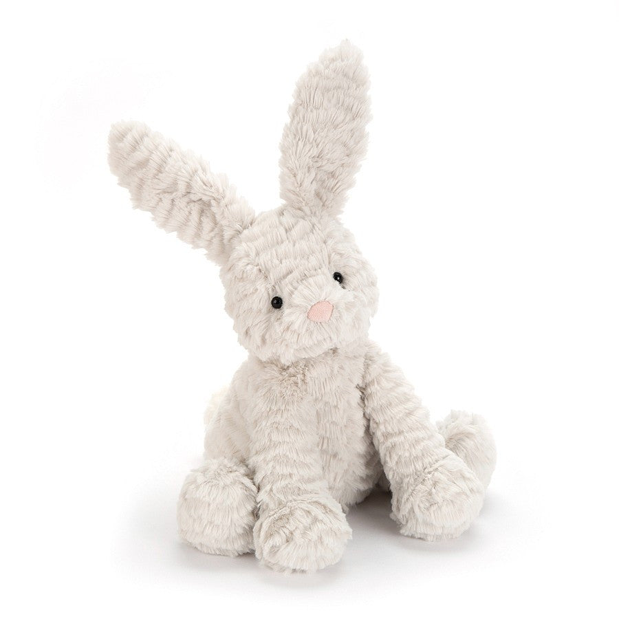 Fuddlewuddle Grey Bunny Medium 9""