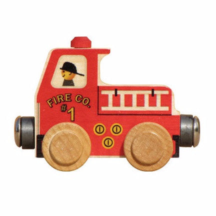 Name Trains Vehicle - Fire Truck
