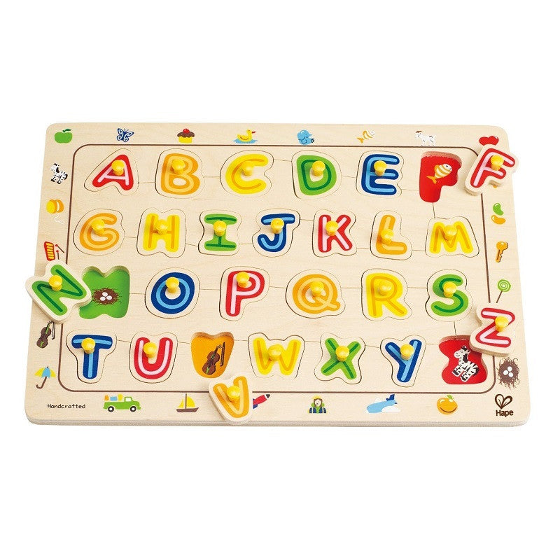 Hape ABC Matching Puzzle, Hape - jeannie n mini baby boutique, ABC Matching Puzzle - Jeannie n mini baby boutique