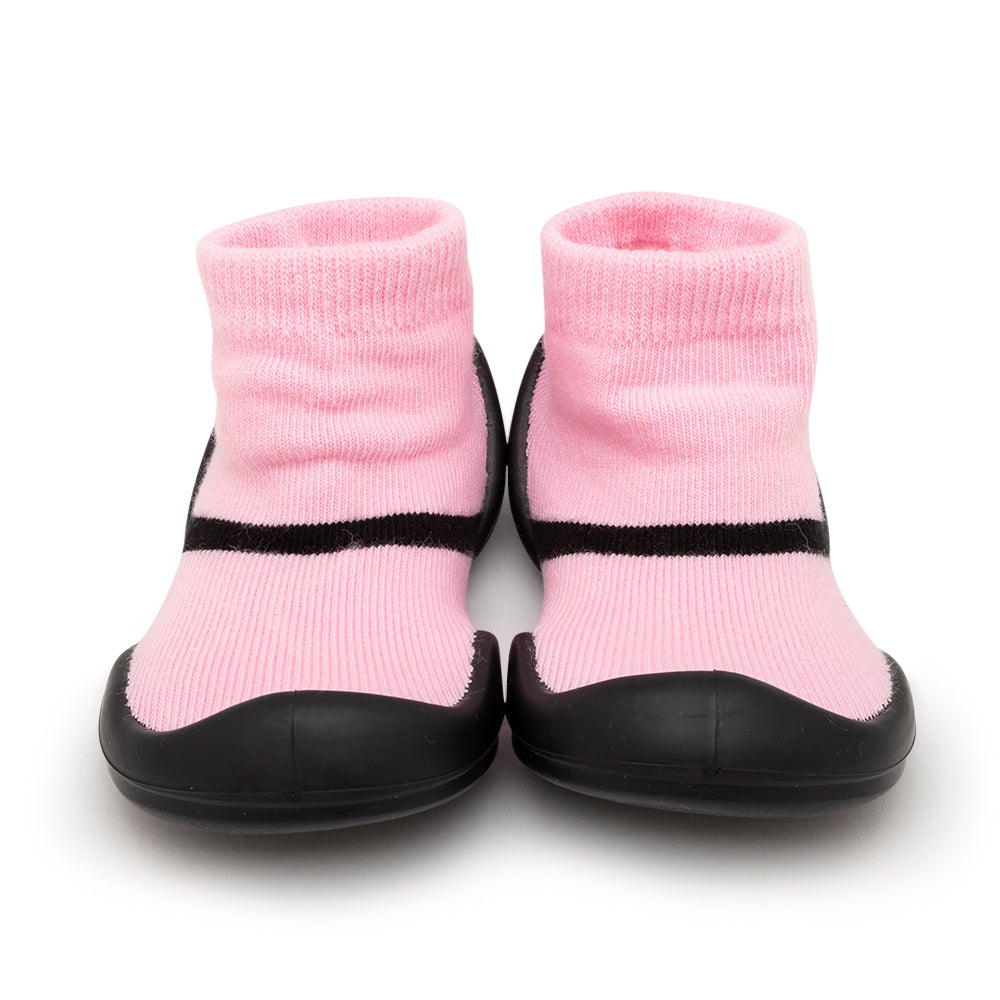 Komuello Baby Shoes - Mary Jane Pink
