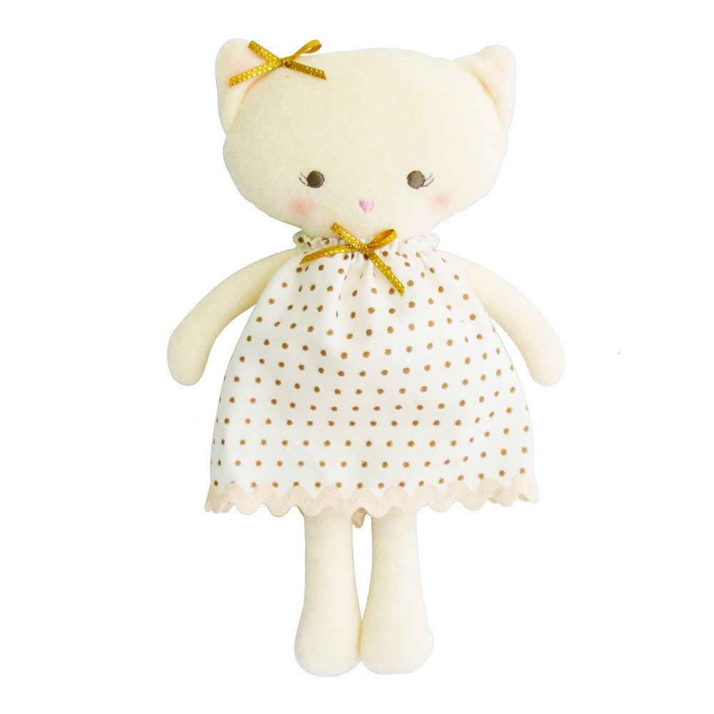 "Kitty Doll 11"" - Gold"