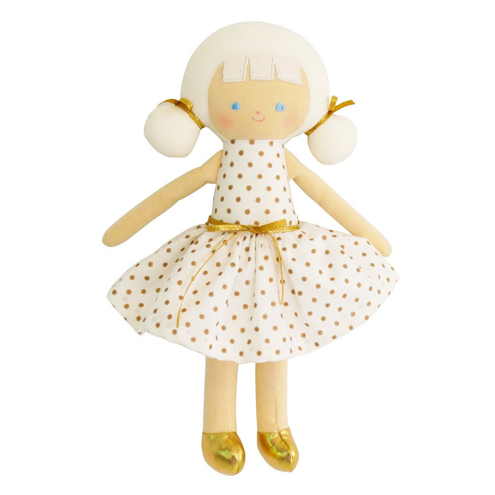 "Audrey Doll 10"" - Gold Spot"