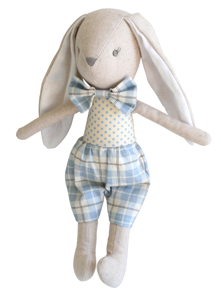 Linen Louie Toy - Blue