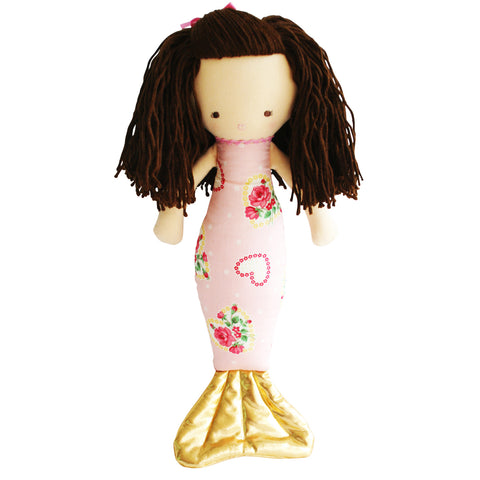 Mermaid Doll 40cm Heart Pink