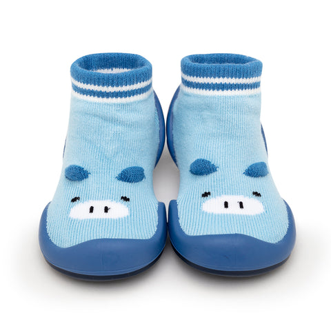 Komuello Baby Shoes - Piglet - Blue