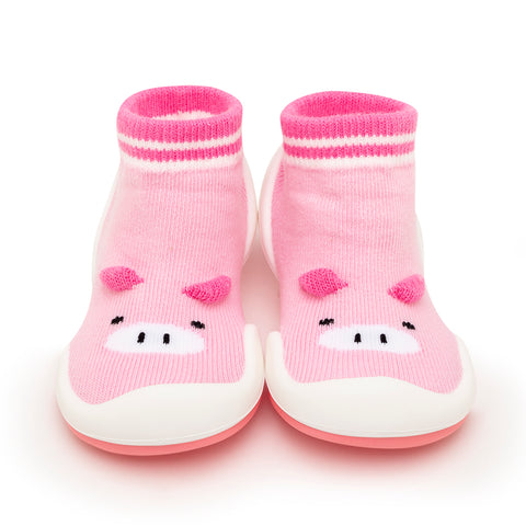 Komuello Baby Shoes - Piglet - Pink