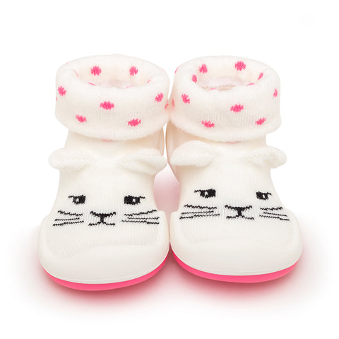 Komuello Baby Shoes - Pink Cats