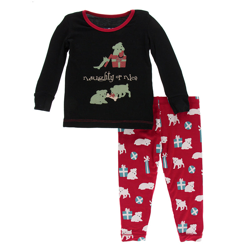 Pajama Set - Midnight Naughty or Nice
