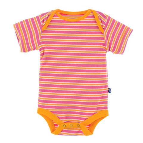 One Piece - Flamingo Brazil Stripe