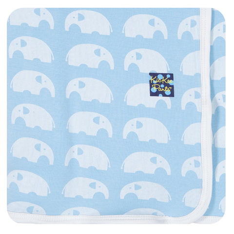 Swaddling Blanket - Pond Elephant