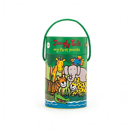 Jungly Tails Puzzle - 4 In One Puzzle