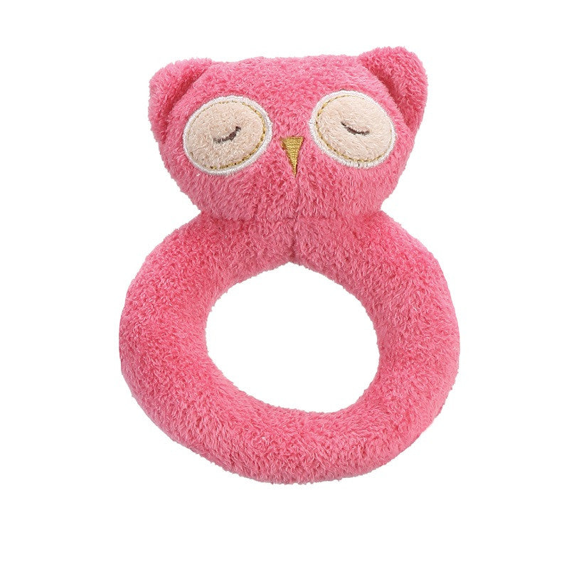 Ring Rattle Hot Pink Owl