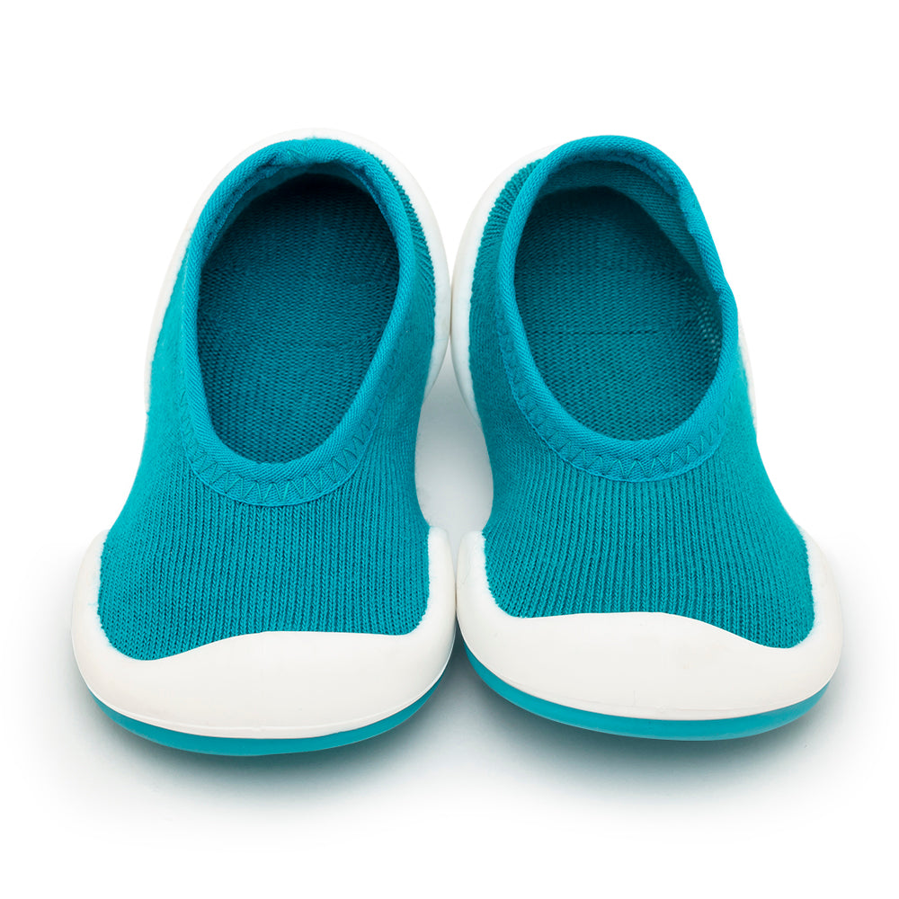 Komuello Baby Shoes - Flat - Teal Solid
