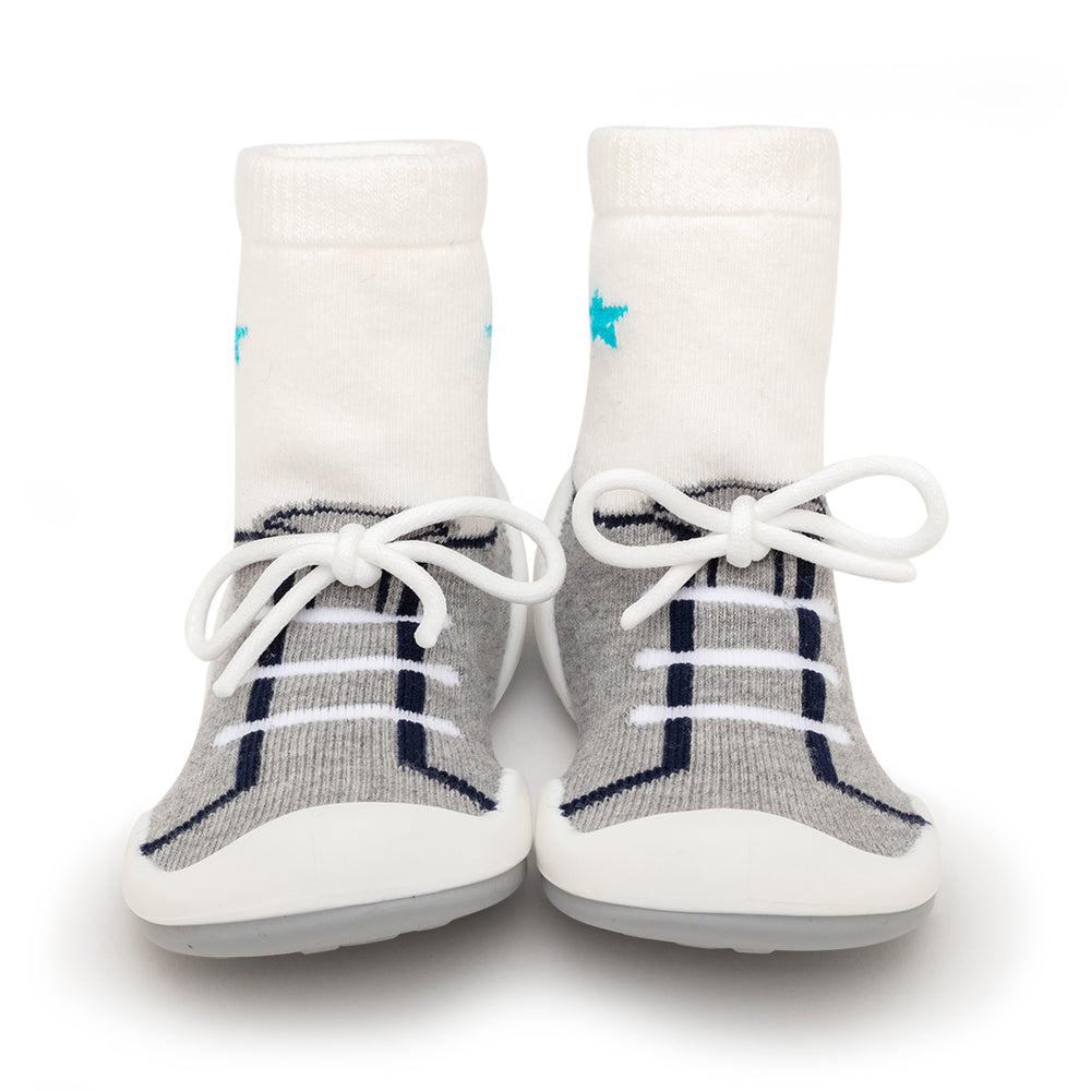 Komuello Baby Shoes - String - Grey