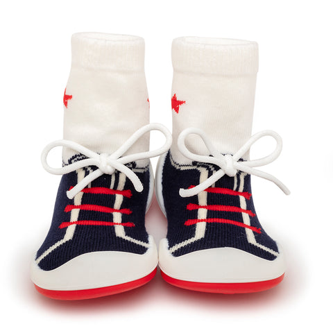 Komuello Baby Shoes - String Navy