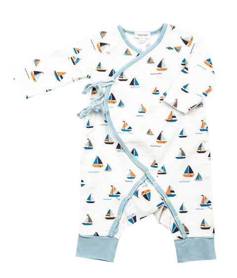 Simple Boats Wrap Coverall