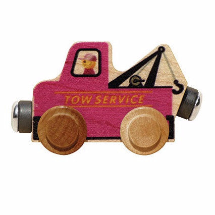 Name Trains Vehicle - Tow Truck