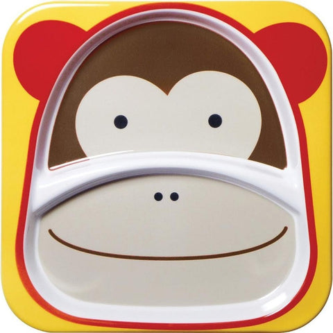 Zoo Divided Plate - Monkey
