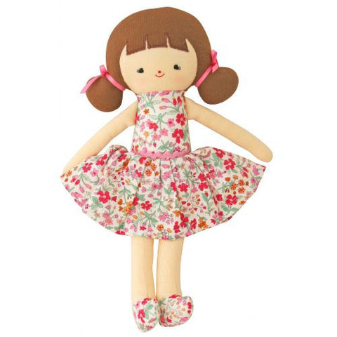 "Audrey Doll 10"" Flower Bouquet"