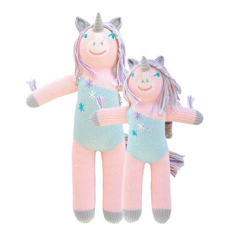 Blabla Knit Doll - Unicorn 'Confetti'