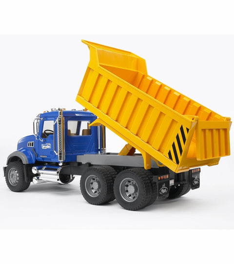 MACK Granite Dump Truck-yellow