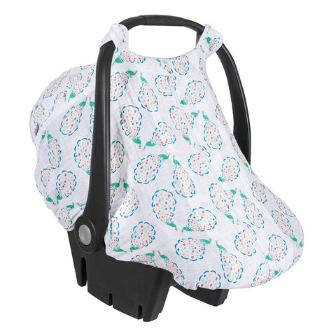 Car Seat Cover- Peacocks