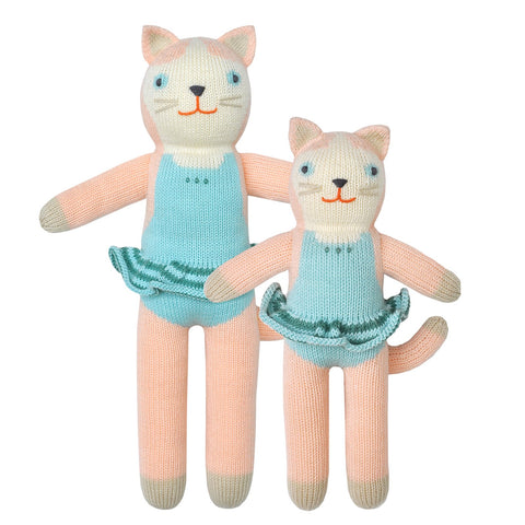 Blabla Knit Doll Cat 'Splash'
