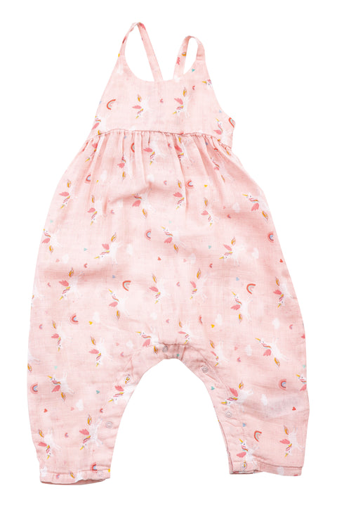 Unicorns Tie Back Romper