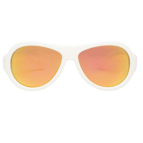 Polarized - Wicked White/Orange Lenses