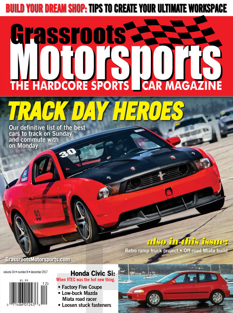 December 2017 - Track Day Heroes