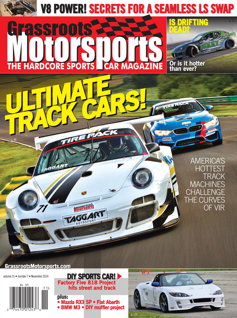 November 2014 - Ultimate Track Cars!